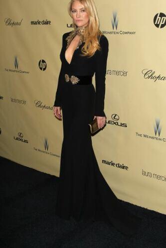 Kate Hudson nos dejó paralizados con el provocador escote que presumió d...