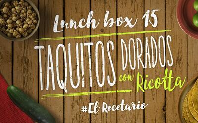 Taquitos dorados de ricotta y zanahoria + caramel popcorn (Día 15)  - 23...