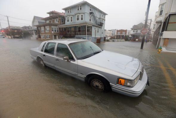 Inundaciones en Nueva Jersey y Atlantic City a raíz del Hurac&aac...