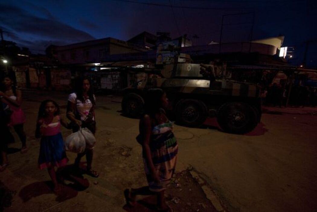 La Policía Militar apoyada por las fuerzas armadas podría invadir el con...