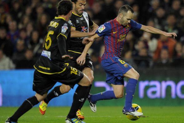 El 'cerebro' Iniesta y su clase volvieron loco a los rivales.