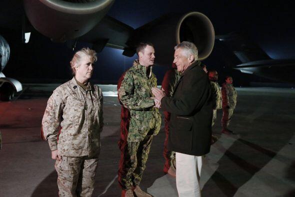 Unos 66 mil militares estadounidenses se encuentran actualmente desplega...