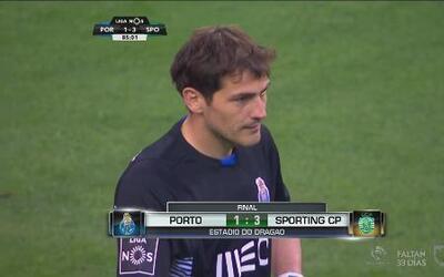 El Porto no hace pie en casa y pierde ante el Sporting CP