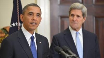 El presidente Barack Obama nomina el viernes al senador John Kerry como...