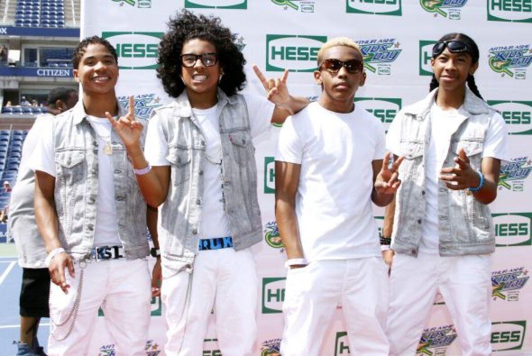 """13.- El cuarteto de R&B saboreó el éxito y la fama con su primer disco """"..."""