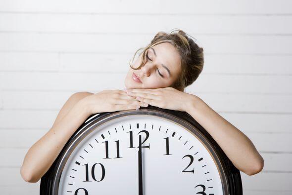 Otro beneficio de dormir entre seis y ocho horas al día es que te...