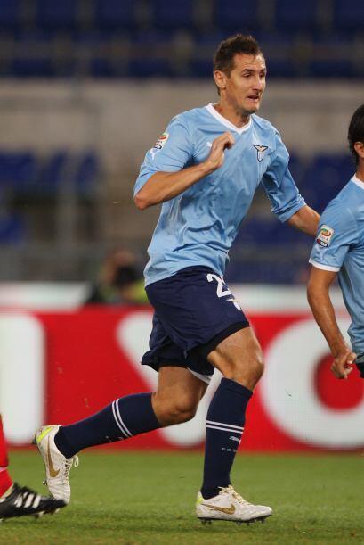 El atacante alemán Miroslav Klose esperaba ser protagonista en el partido.