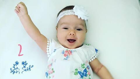 Alana, bebe de Satcha
