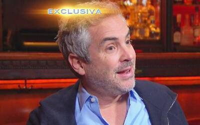 Alfonso Cuarón está listo para celebrar su filme Gravity ¿con Lucía Méndez?