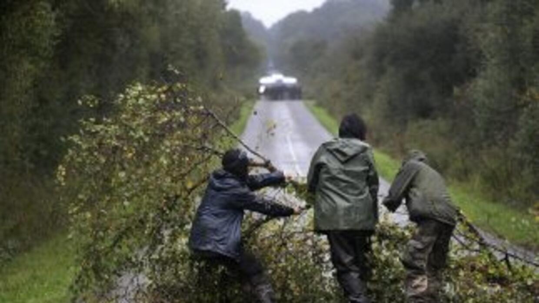 Armados con pistolas y rifles, mantienen el control de los accesos, dond...