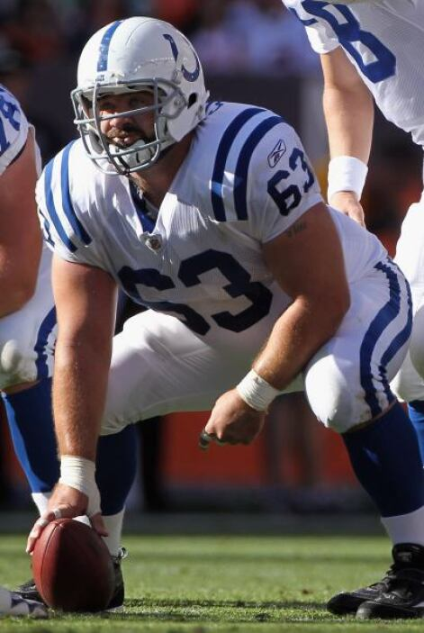 59. Jeff Saturday (centro - Indianapolis Colts)