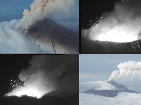La Secretaría de Marina Armada de México dio a conocer las cuatro imágen...
