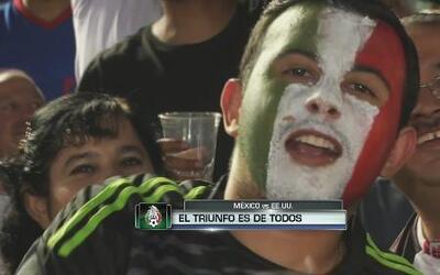 México 3-2 EEUU: El triunfo es de todos