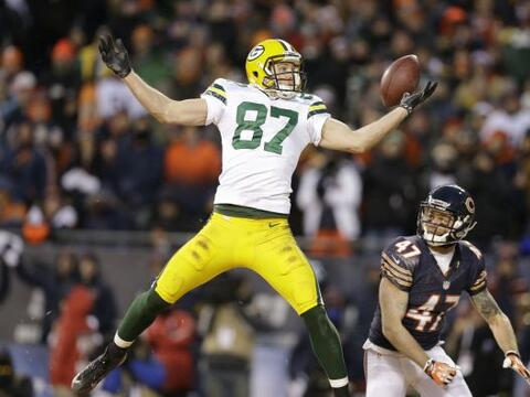 N° 83 Jordy Nelson, Green Bay Packers (AP-NFL).