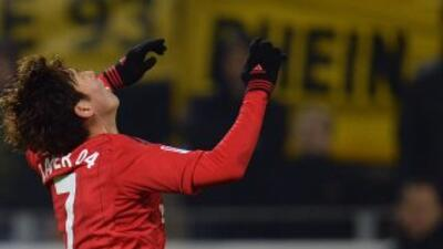 Heung Min Son anotó por el Leverkusen.