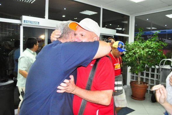 El recién liberado Carvajal había sido arrestado por sus p...