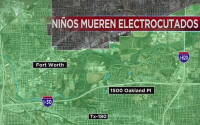 Dos niños murieron electrocutados cuando cables del tendido eléctrico se...