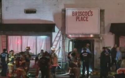 Dos muertos y un herido es el saldo de un incendio que ocurrió en un edi...