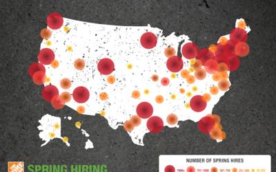 Home Depot oferta 80,000 plazas laborales en todo el país.