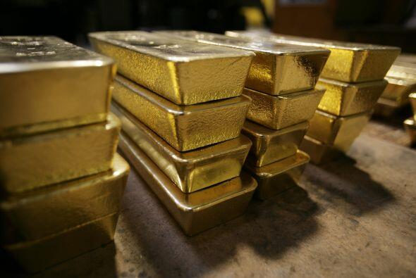 El Banco Nacional de Suiza gestiona la reserva de este metal precioso, e...