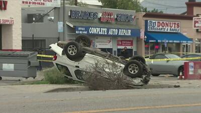 Un hombre se accidentó tras desatar persecución policial en Canoga Park