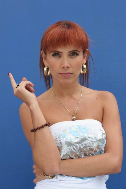 "Sandra Beltrán es Jessica ""La Diabla"", amiga de Catalina y disfruta de l..."
