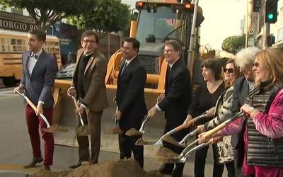 Harán una fuerte inversión en Los Ángeles para embellecer el Distrito de...