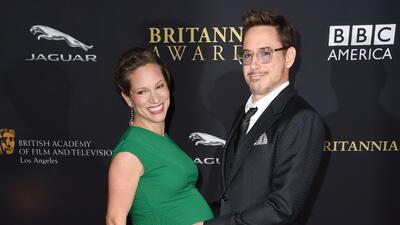 ¡Papacito!, nació la bebita de Robert Downey Jr.