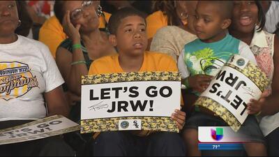Celebran a lo grande el desempeño de Jackie Robinson West