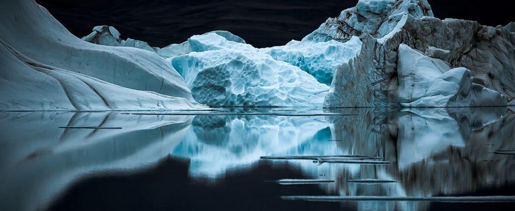 Una noche tranquila en la isla de Ellesmere, Canadá, donde hay veinticua...