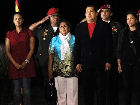 En la trayectoria del presidente venezolano Hugo Chávez, las muje...
