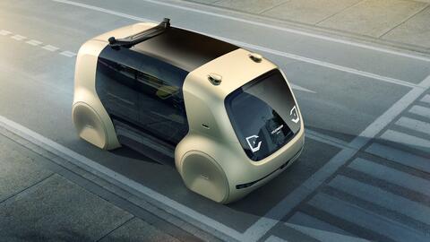 La marca alemana muestra en el Auto Show de Ginebra una minivan aut&oacu...