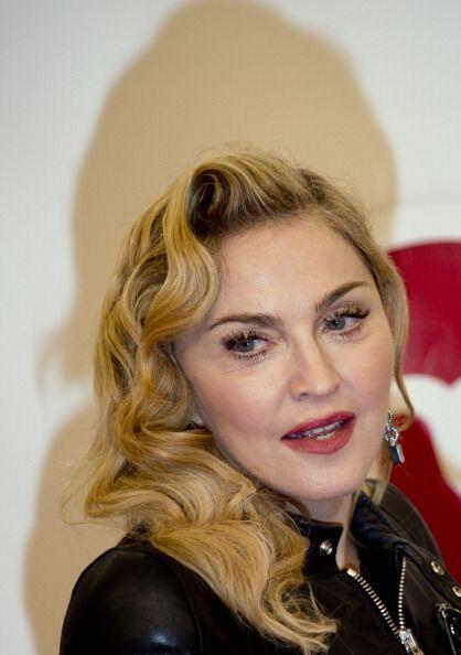"""1. Madonna. La intérprete estadounidense de 55 años, conocida como """"La R..."""