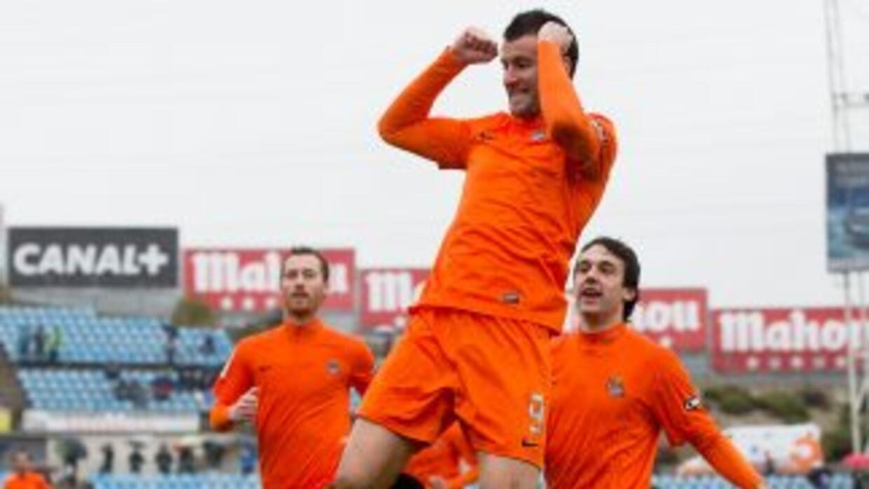 Agirretxe decidió el partido en favor del equipo vasco.