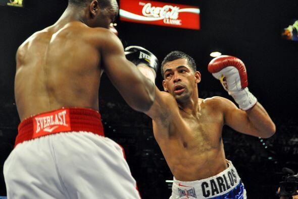Dos rectos de derecha en el sexto acabaron con la pelea.