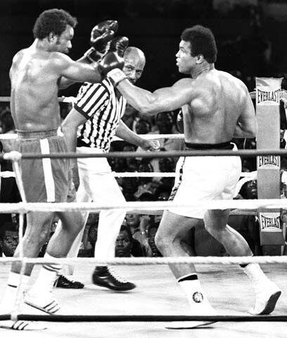 Ruido en la selvaDespués de sus peleas contra Norton, Muhammed Al...