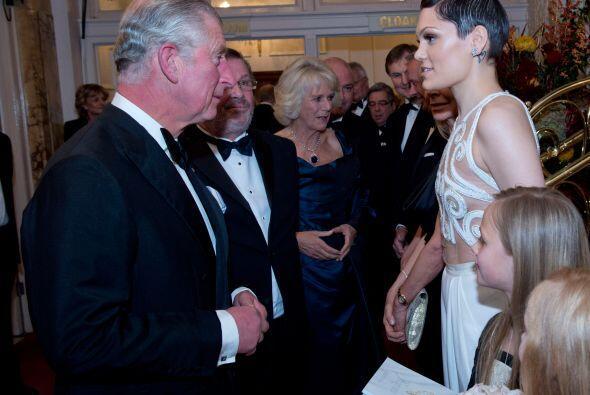 La fiesta Royal Variety Performance albergó a gente muy importante de la...