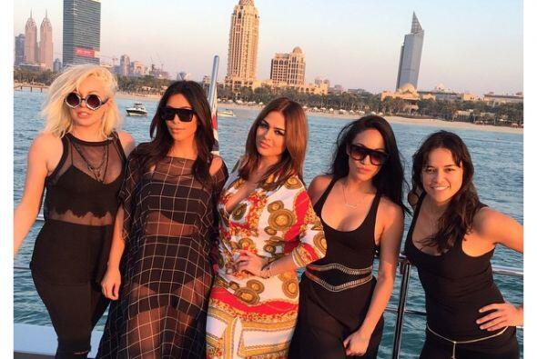 Kim Kardashian se encuentra en Dubái.