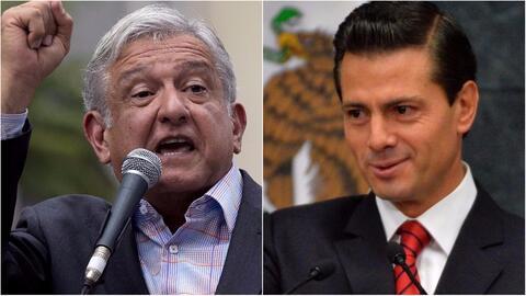 Si López Obrador llega a la presidencia, ¿investigaría a Peña Nieto y a...
