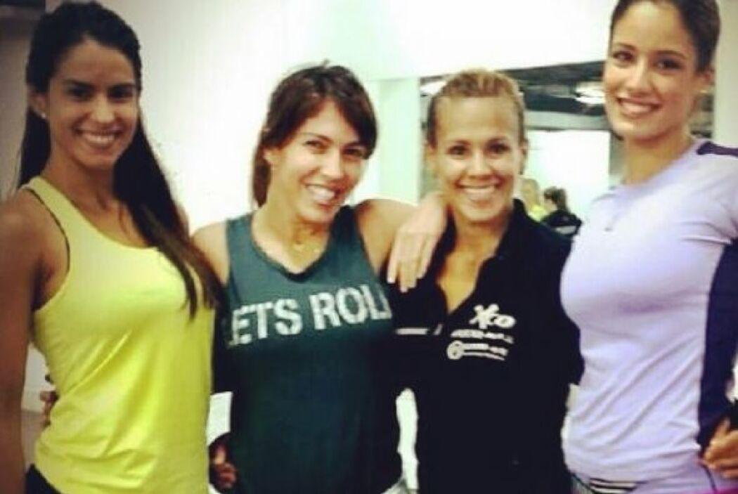 Vanessa y Aleida Ortiz comenzaron una etapa juntas, como modelos de Giga...