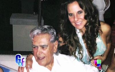 Kate del Castillo celebró a lo grande los 80 años de su papá Eric