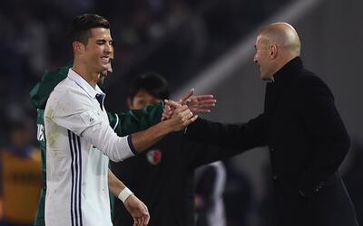 """Zidane defiende a Cristiano: """"Yo también jugaba mal a veces, ¿y qué?"""""""