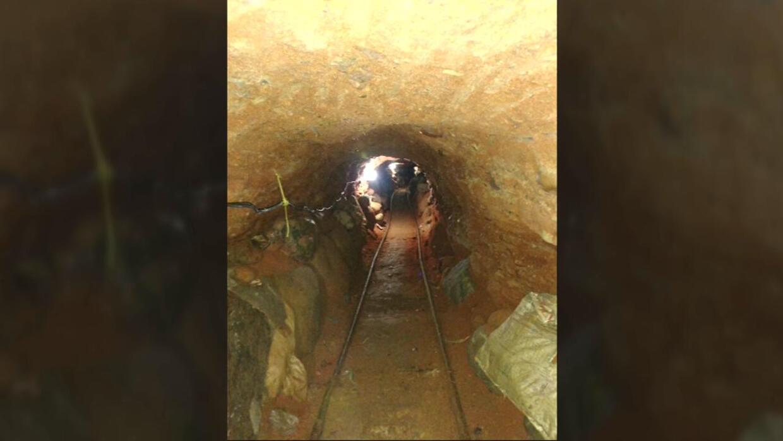 Fiscalía mexicana encuentra en Tijuana un túnel que conduce hasta los Es...