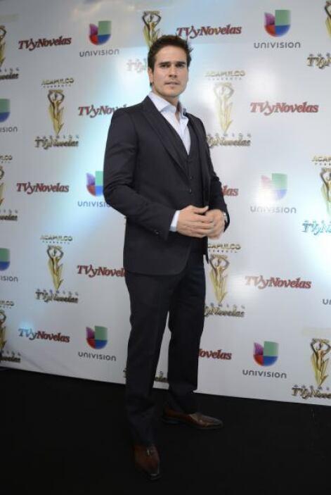 Aunque tiene gran competencia. Daniel Arenas está nominado por Mejor act...