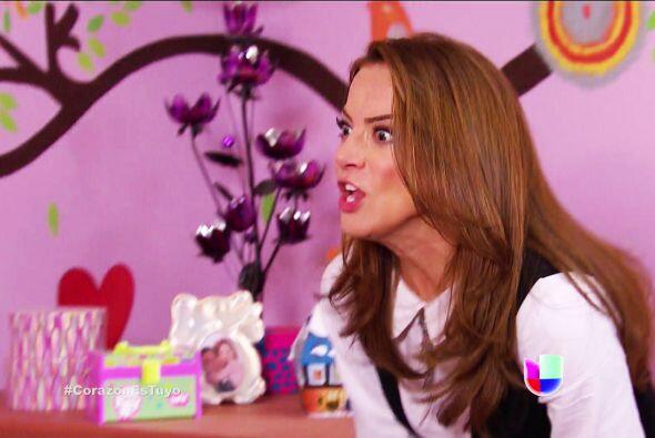 ¿Qué pasa Ana? ¿Por qué esa cara de susto? ¿A quién viste?