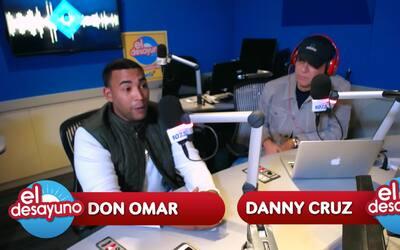 'Uno de mis sueños es trabajar en Hollywood' Compartió Don Omar