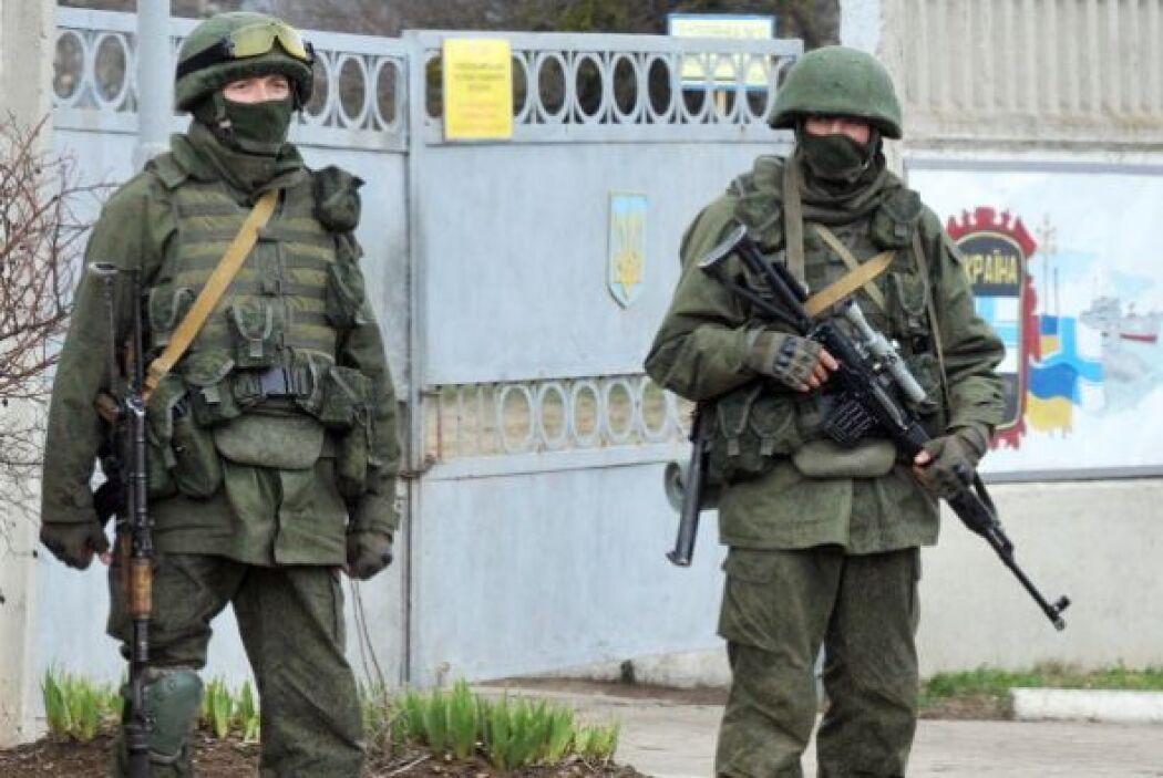 En la segunda ciudad rusa, San Petersburgo, también comenzó una manifest...