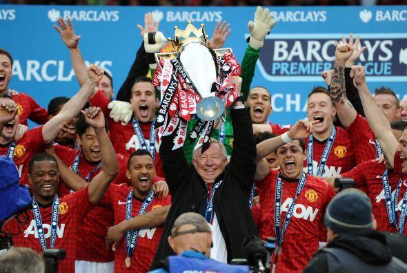 El entrenador de este equipo no podía ser nadie más que Sir Alex Ferguso...