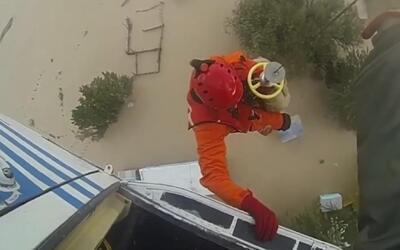Rescatan en Argentina a un hombre que estuvo atrapado una semana en el t...