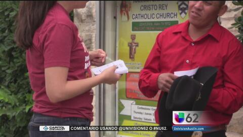 Organizaciones pro inmigrantes invitan a residentes de Austin a una marc...